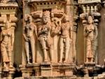 Изображения на стенах храмов