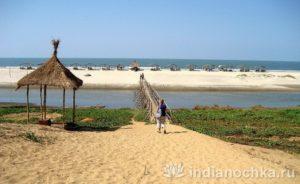 Пляж Мадрем, Гоа