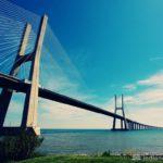 Мост в Лиссабоне (Португалия)