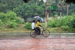 Сезон дождей в Индии