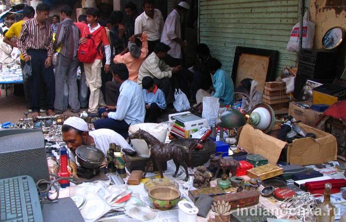 Рынки города Мумбаи