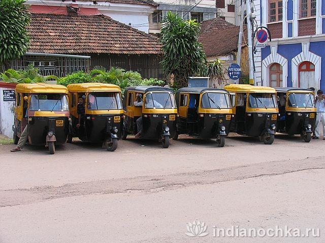 Авто-рикши в Индии