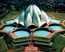 Храм Лотоса в Индии