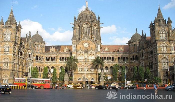 ЖД Вокзал Викотория в Мумбаи