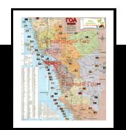 Подробная карта Гоа