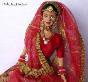 Индийская кукла Барби