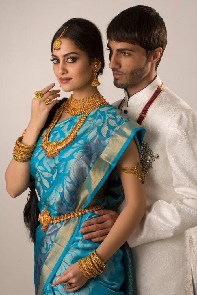 Свадебное сари
