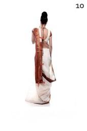 Одеваем сари: шаг 10