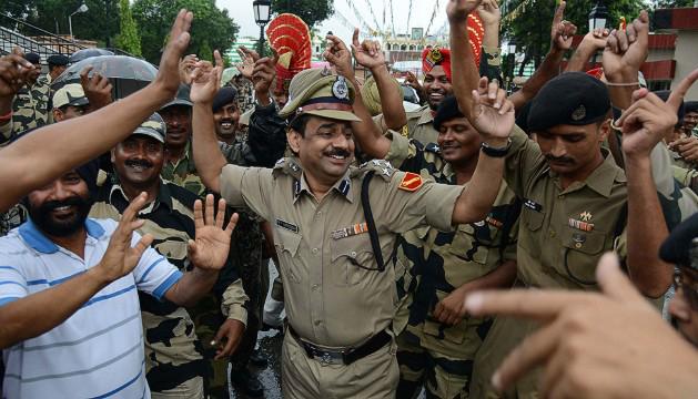Пограничники в День независимости Индии