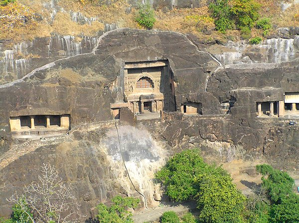 Пещеры Аджанты, штат Махараштра