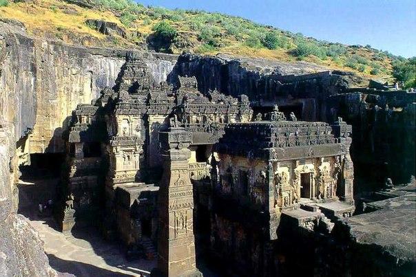 Храм Эллоры в Индии