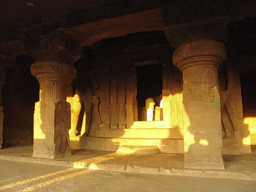Храм Рамешвара. Индия. Эллора.