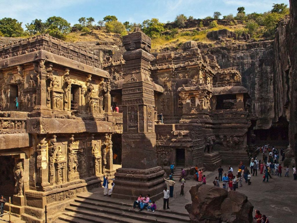 Храм Кайласанатха (Кайлаш). Эллора