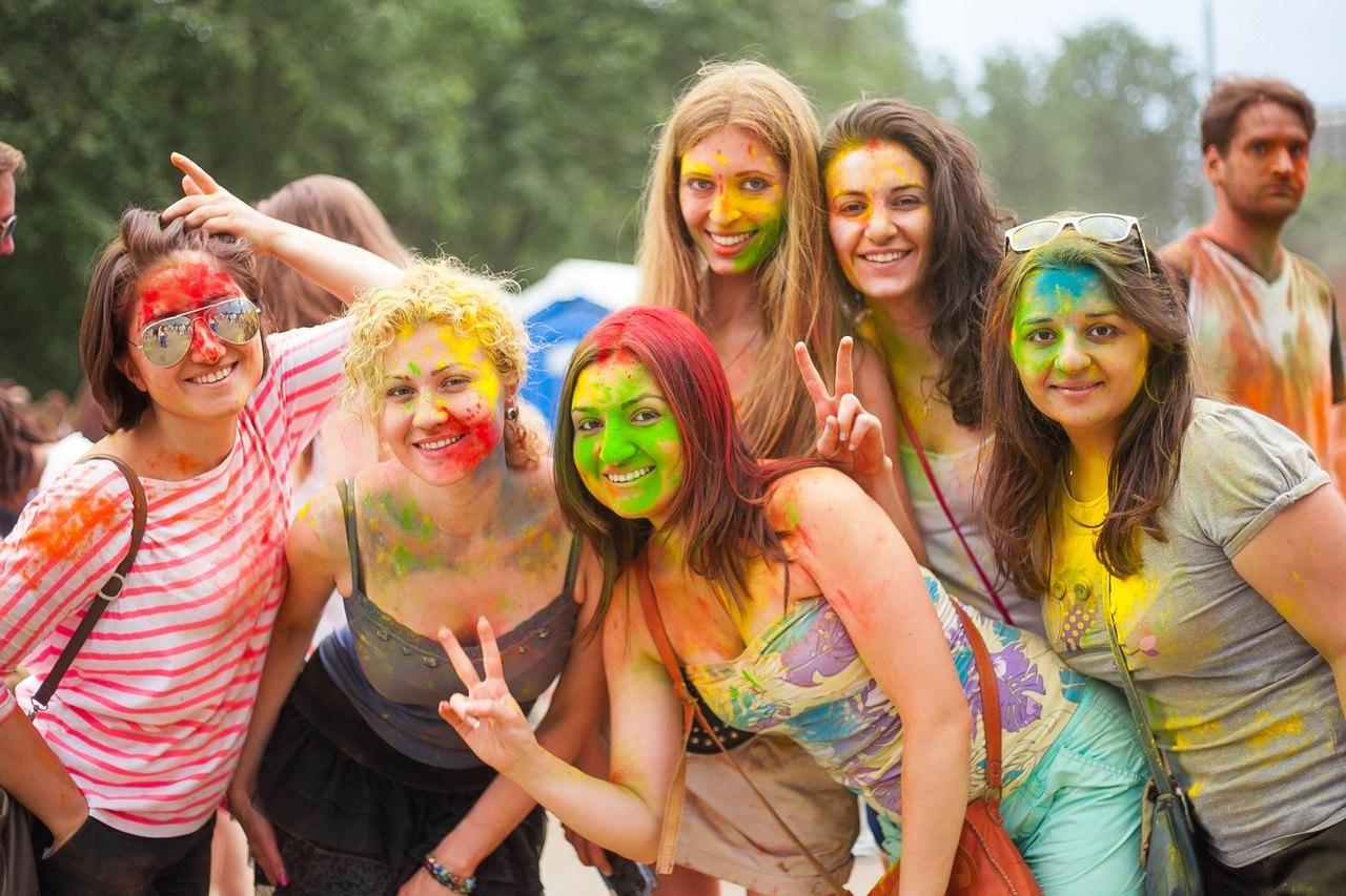 holi festival a case study on