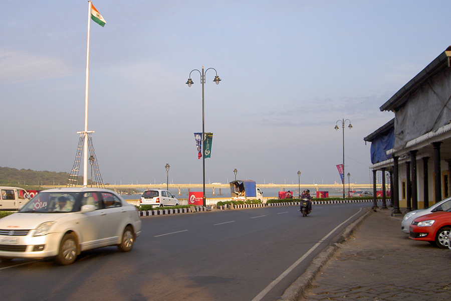 Панаджи - столица туристического штата Гоа в Индии