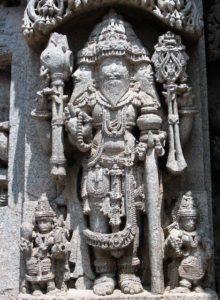 Статуя Брахмы