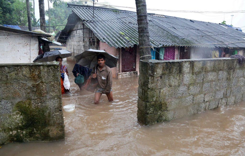 наводнение Керала