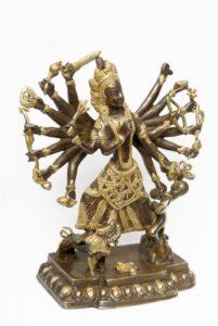 Богиня Дурга статуэтка