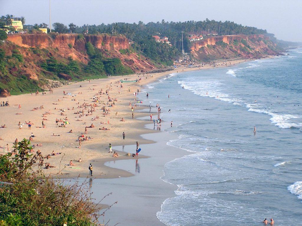 Пляж Варкала Керала