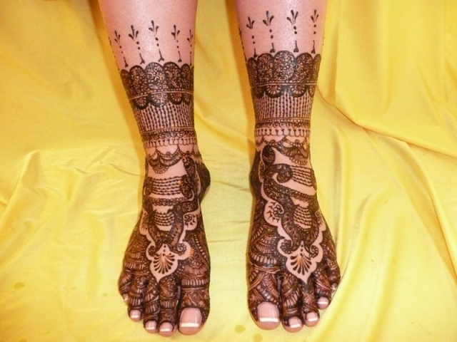 рисунки на ногах фото
