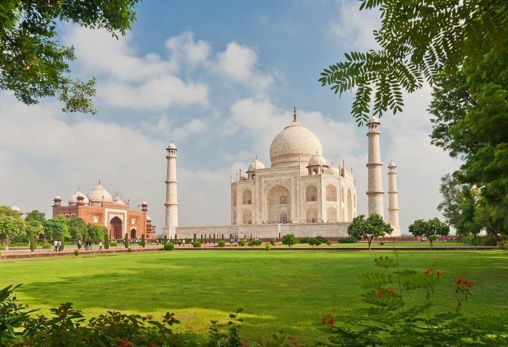 Тадж-Махал и история создания храма в Индии