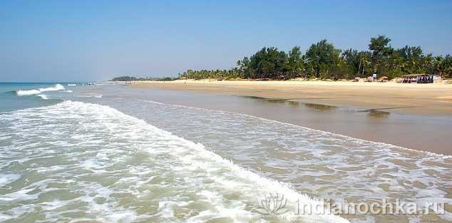 Пляж Варка, Гоа