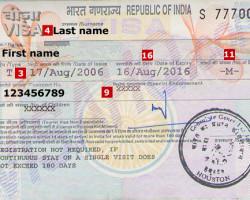 Как получить визу в Индию для Россиян