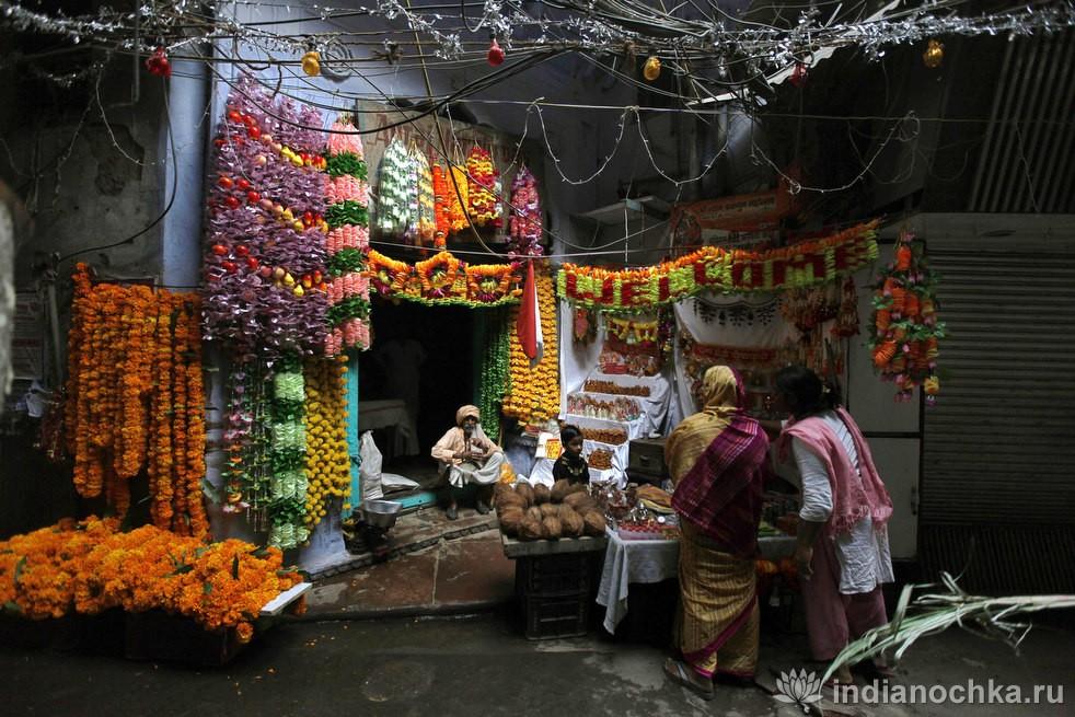 Украшения праздника Дивали в Индии