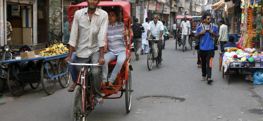 Такси и рикши Индии