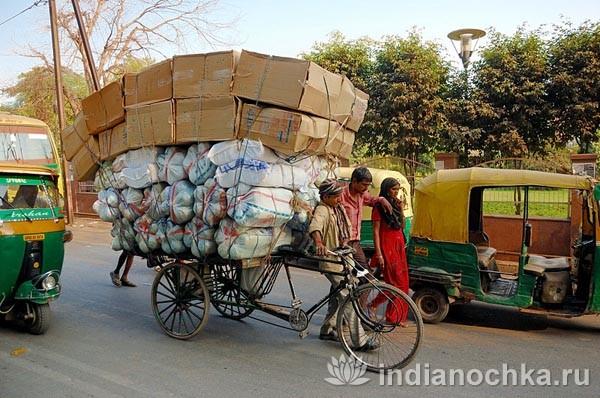 Грузовой рикша