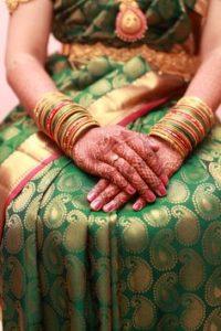 Свадебное сари штата Махараштра