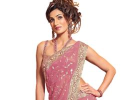 Как одеть индийское сари?