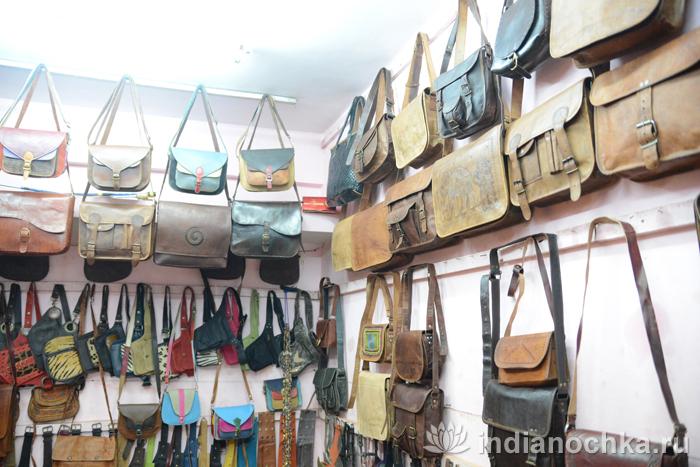 Кожаные сумки в Гоа