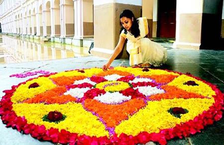 Фестиваль Онам в Керале