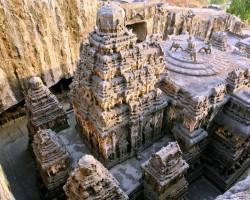 Пещеры Эллоры. Индия.