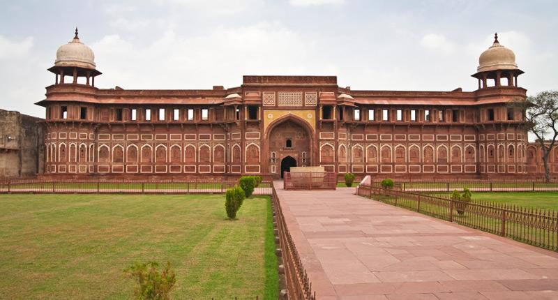 Форт Агра в Индии
