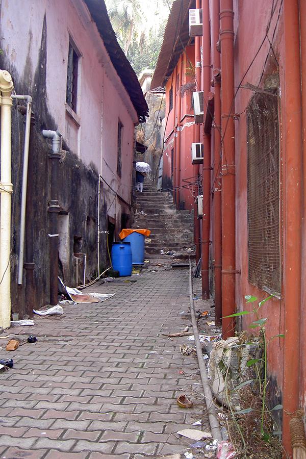 Переулок в Панаджи