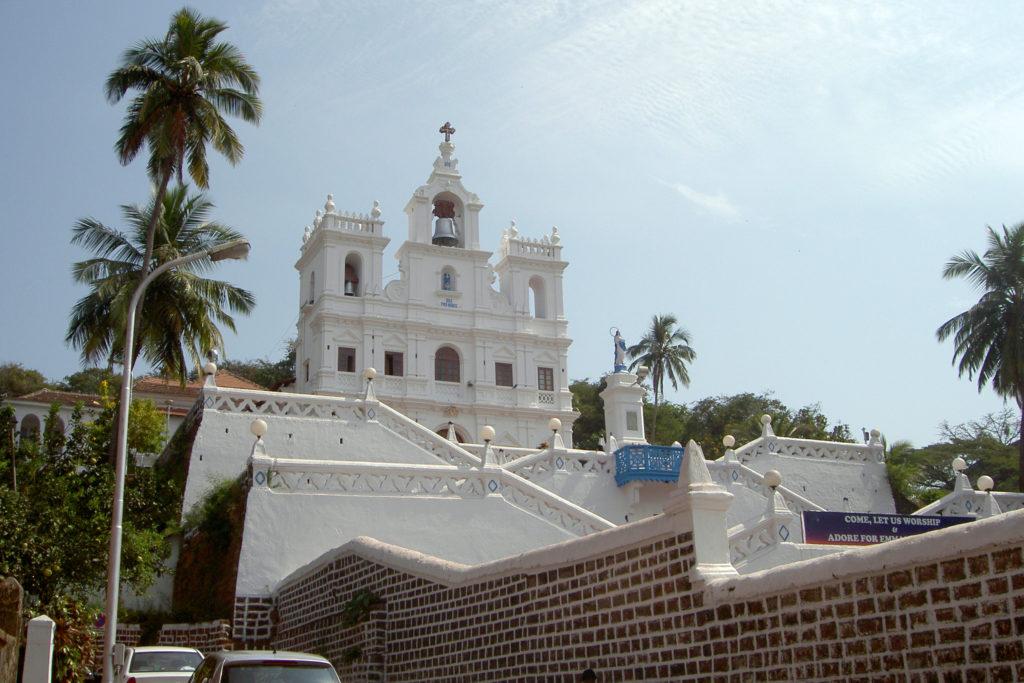 Церковь Непорочного зачатия Божьей Матери, Панаджи