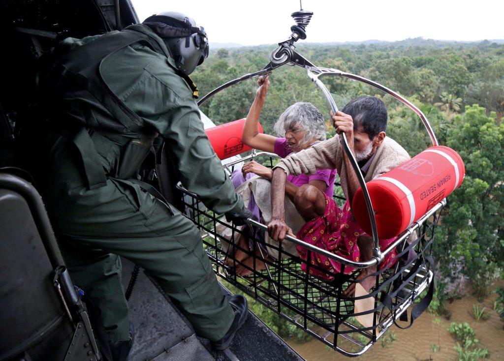 спасатели в Керале