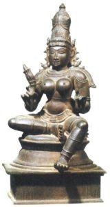 Статуя Парвати