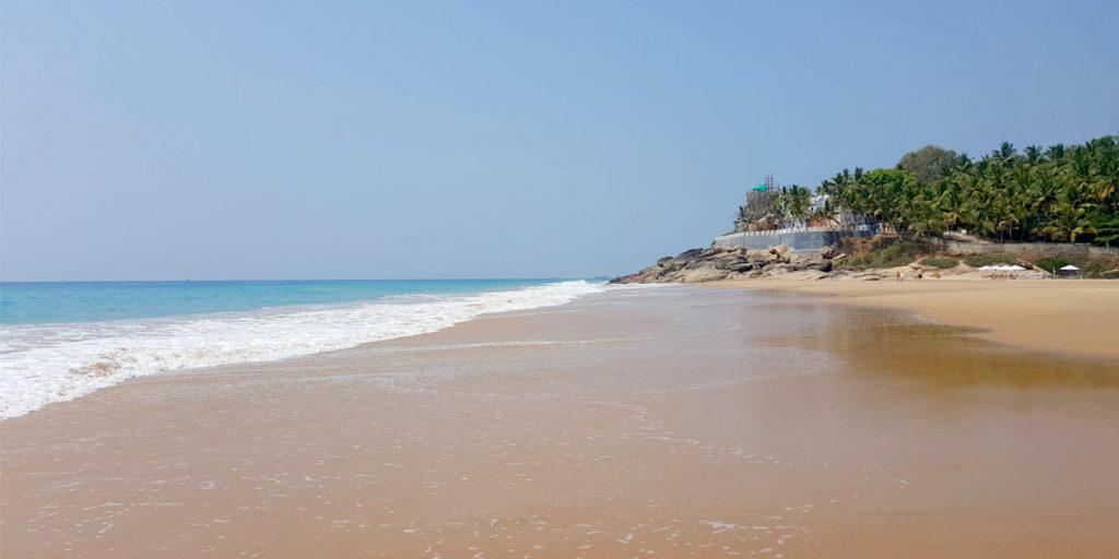 Пляж Човара Керала