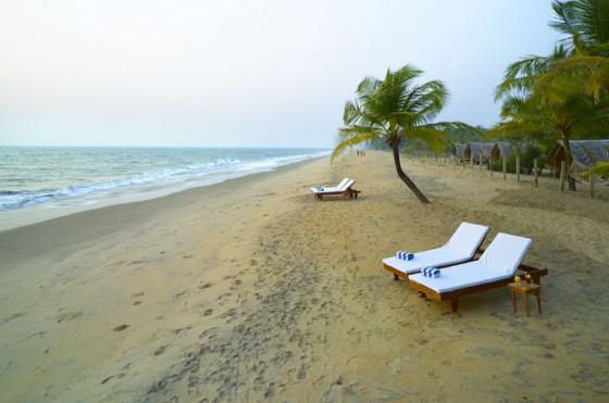 Пляж Наттика в Керале