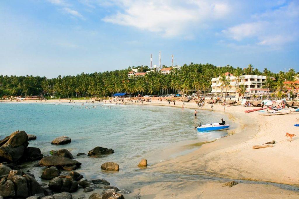 Пляжи Индии Керала