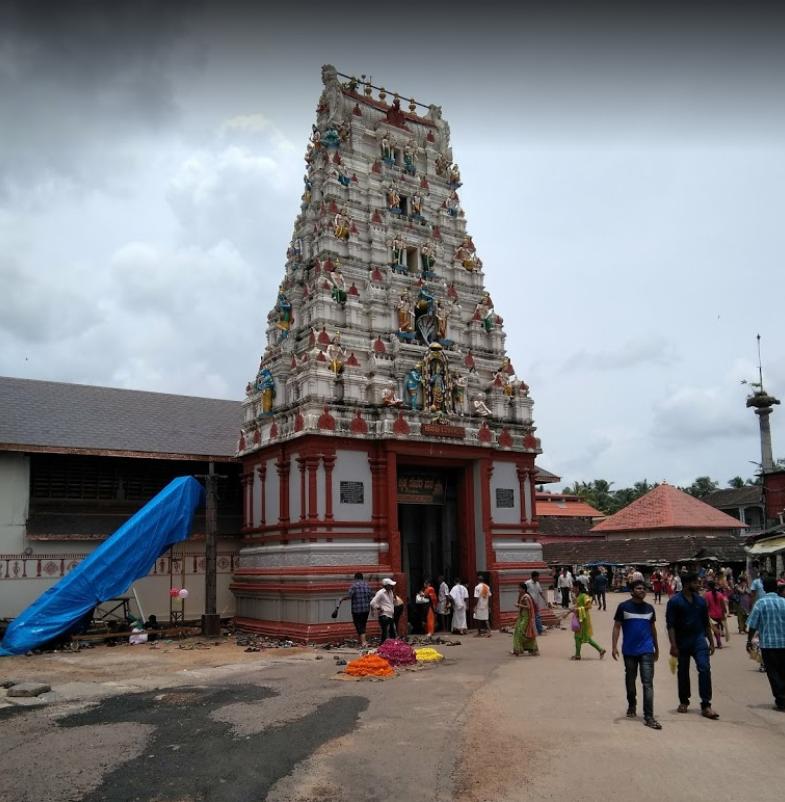 Храм Кришны в Карнатаке
