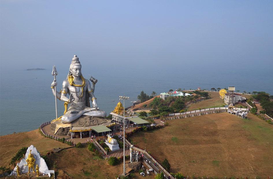 статуя Шивы в Карнатаке Мурдешвар